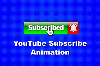 YouTube Shiny Subscribe Animation